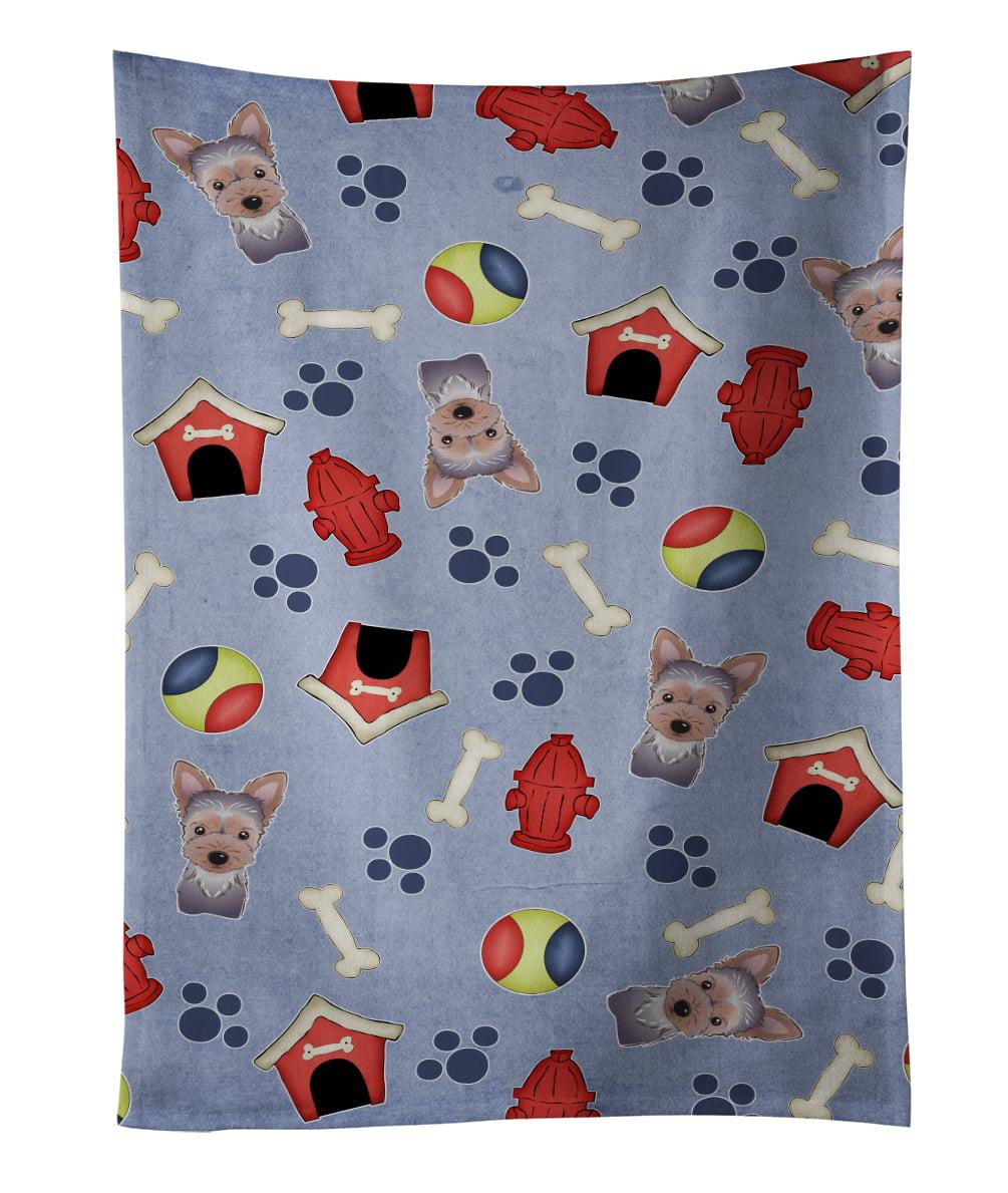 Dog House Collection Yorkie Puppy Kitchen Towel BB4011KTWL by Caroline's Treasures