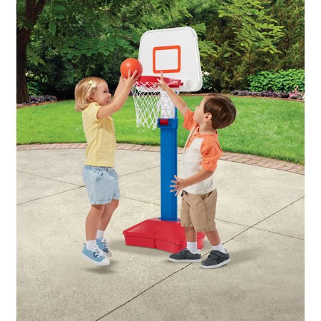 American Plastic Toys Play Day Jump 'n Slam Basketball (Little People Jump And Play Swing Set)