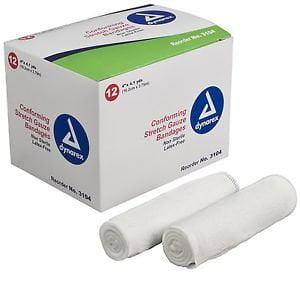 3 Gauze Bandage (3 Box CONFORMING STRETCH GAUZE 4