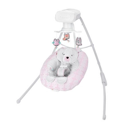 Fisher-Price Cradle 'n Swing with 6-Speeds, Snugabear