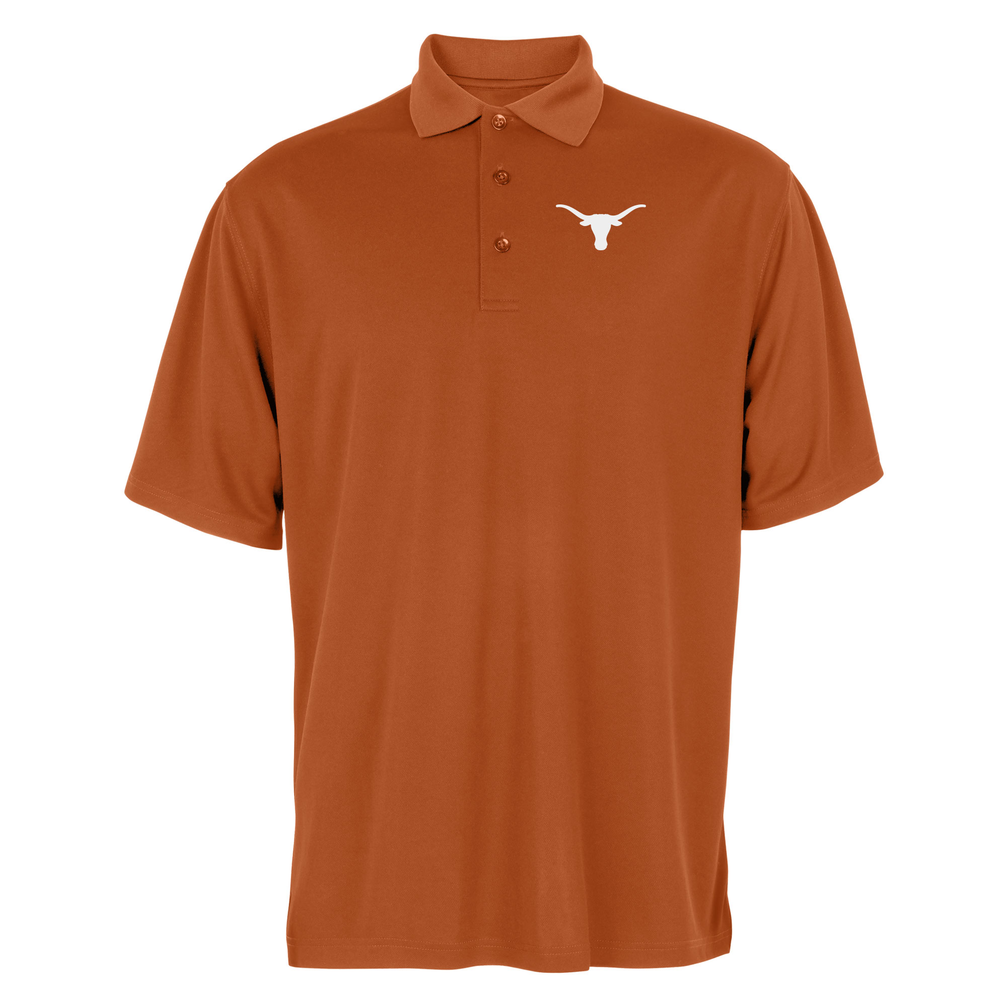 Men's Texas Orange Texas Longhorns Bevo Polo