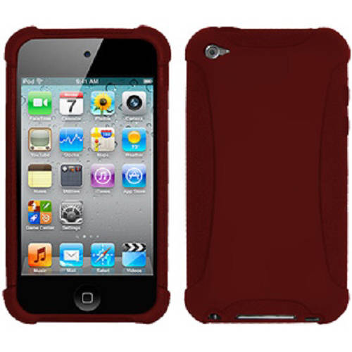 Amzer Silicone Skin Jelly Case for Apple iPod touch 4th Gen