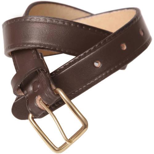 Daxx Boys Single Prong Leather Belt