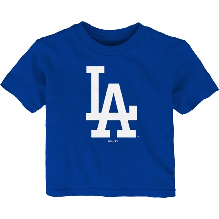 Los Angeles Dodgers Infant Team Primary Logo T-Shirt - Royal