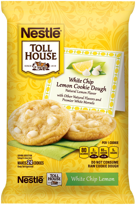 Nestle TOLL HOUSE White Chip Lemon Cookie Dough 16 oz. Bar ...