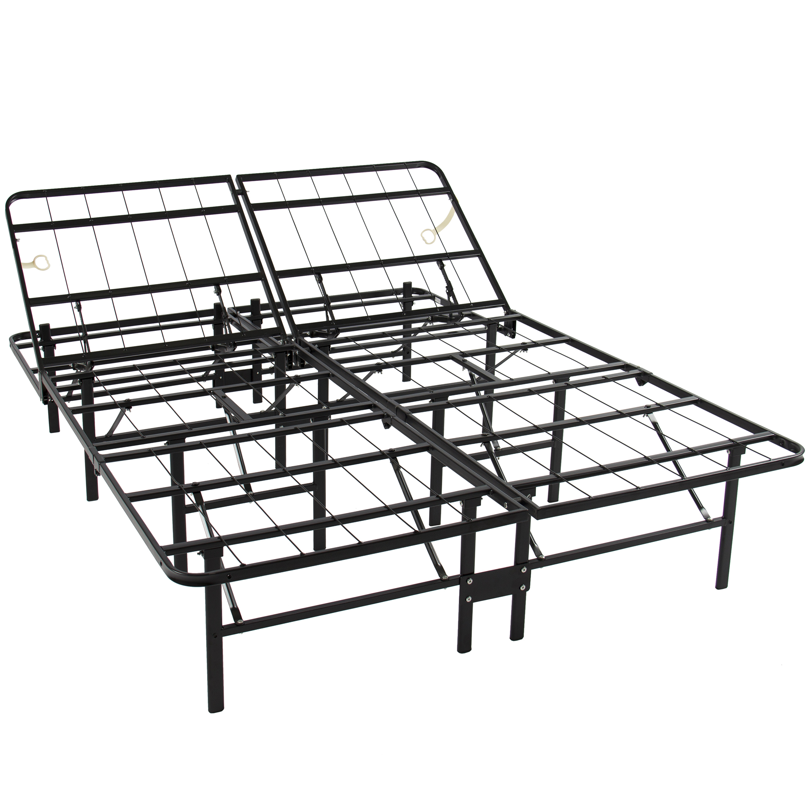 - Structures Full Size Platform Bed Frame And Box Spring In One