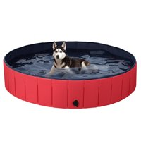 SmileMart Foldable Pet Swimming Pool Wash Tub 55.1-inch