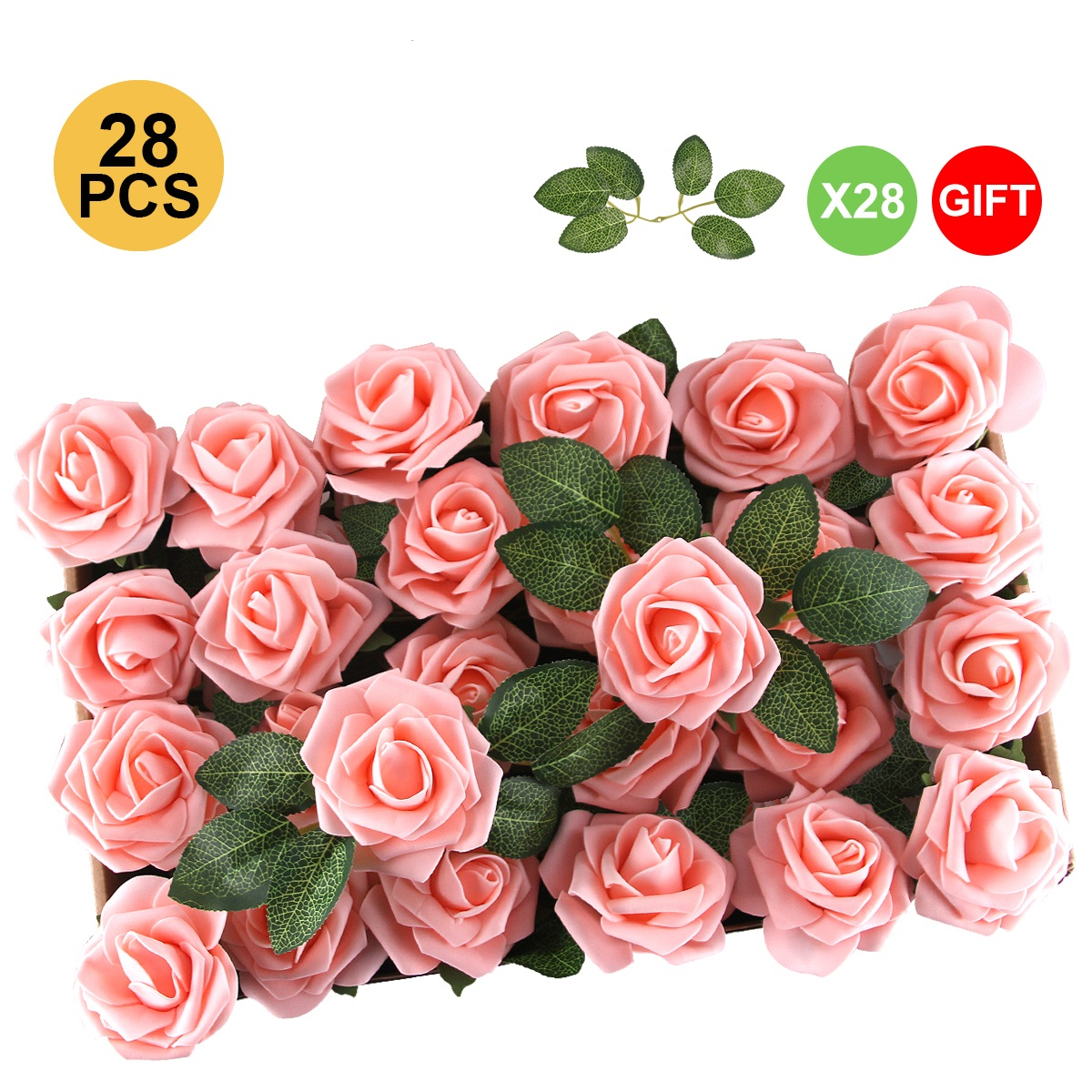 12 Small Red Roses Foam Flowers Miniature Foam Roses Craft Flowers Artificial Flowers Boutonniere Flowers Fake Red Flowers Decorative Roses