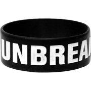 Emmure Men's Unbreakable Rubber Bracelet Black