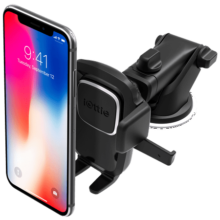iOttie Easy One Touch 4 Dashboard & Windshield Car Mount Holder for iPhone X 8 8 Plus 7 Plus 6s Plus 6 SE Samsung Galaxy S8 Plus S8 Edge S7 S6 Note 8 5SE (Galaxy Note 4 Car Mount)