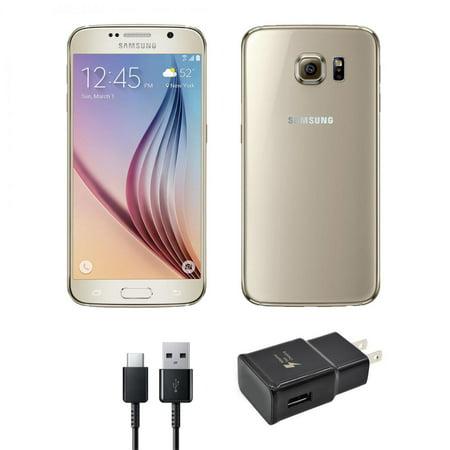 Refurbished Samsung Galaxy S6 32GB GSM Unlocked Gold Platinum (Good