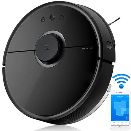 Roborock S55 Robotic Vacuum Cleaner and Mop, 2000Pa Super Power Suction & Wi-Fi Connectivity and Smart Navigating Robot Vacuum with 5200mAh Battery Capacity for Pet Hair, Carpet & Hard Floor