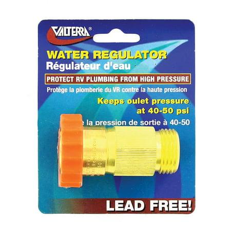 Valterra A01-1120VP 40-50 PSI Lead Free Water Regulator (Regular Fitting)
