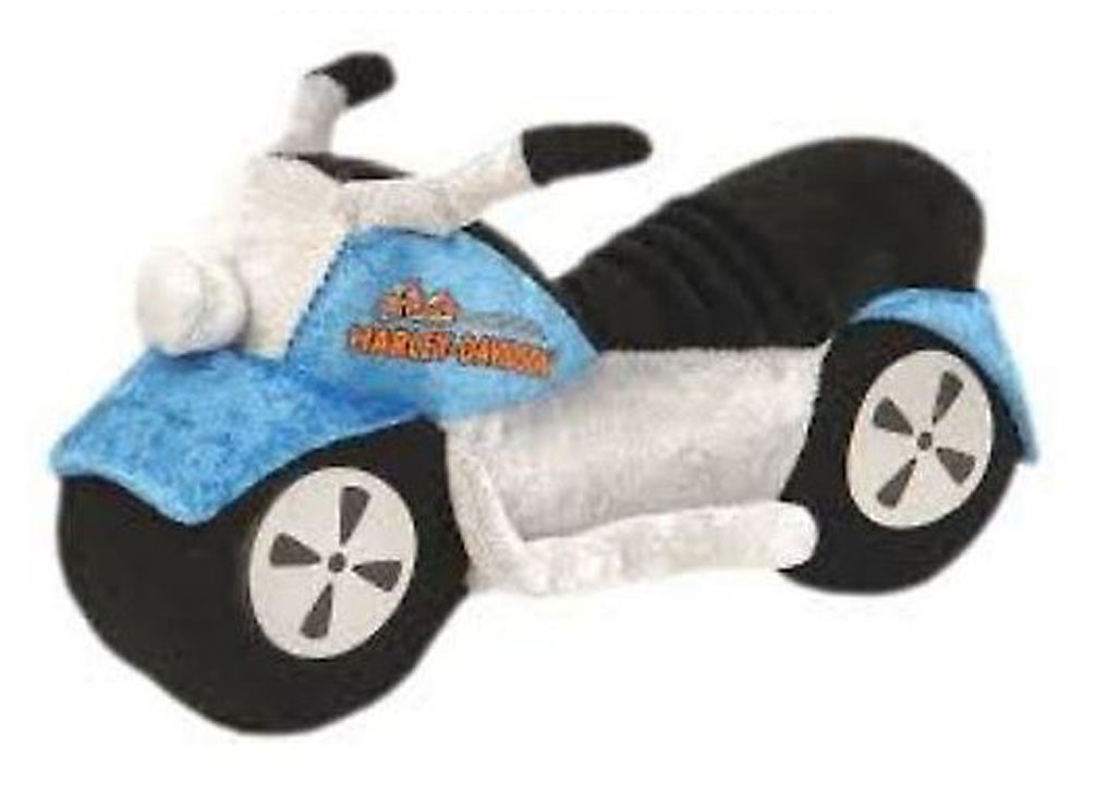 Harley-Davidson Kid's Sound & Lights Stuffed Motorcycle, Red/Black/Blue  20008, Harley Davidson