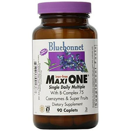 Bluebonnet Maxi One, Iron Free, 90 Ct