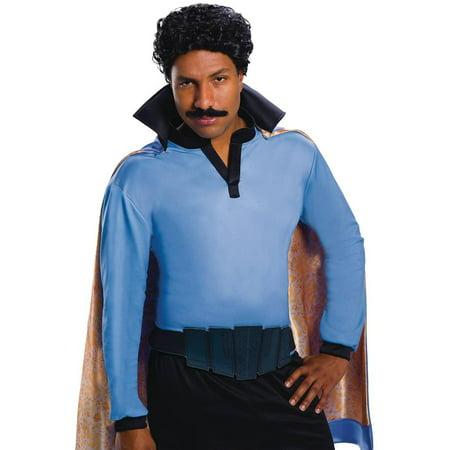 Star Wars Classic Lando Calrissian Adult Wig & Mustache Costume Set - image 1 of 1