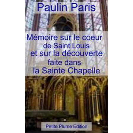 Zayn Et Louis Halloween (Mémoire sur le cœur de Saint Louis et sur la découverte faite sans la Sainte Chapelle -)
