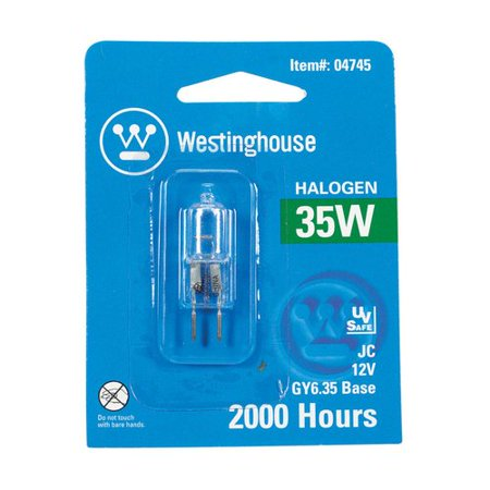 Westinghouse Lighting 35W GY6.35 Dimmable Halogen Edison Capsule Light Bulb