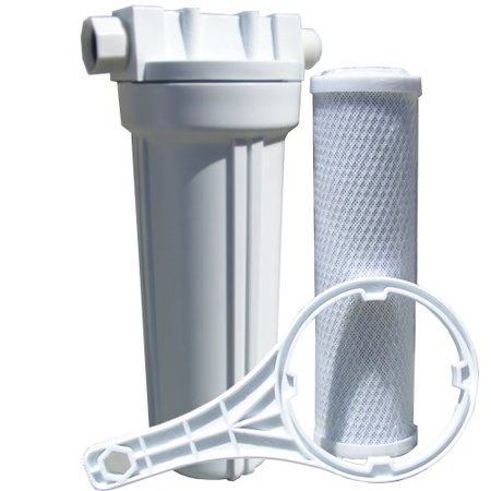 Watts 520021 Rv Boat Single Exterior Water Filter With Garden Hose Fittings