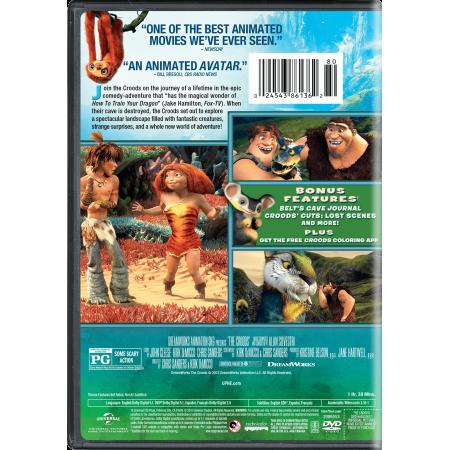 5b48944446df The Croods (DVD) - Walmart.com