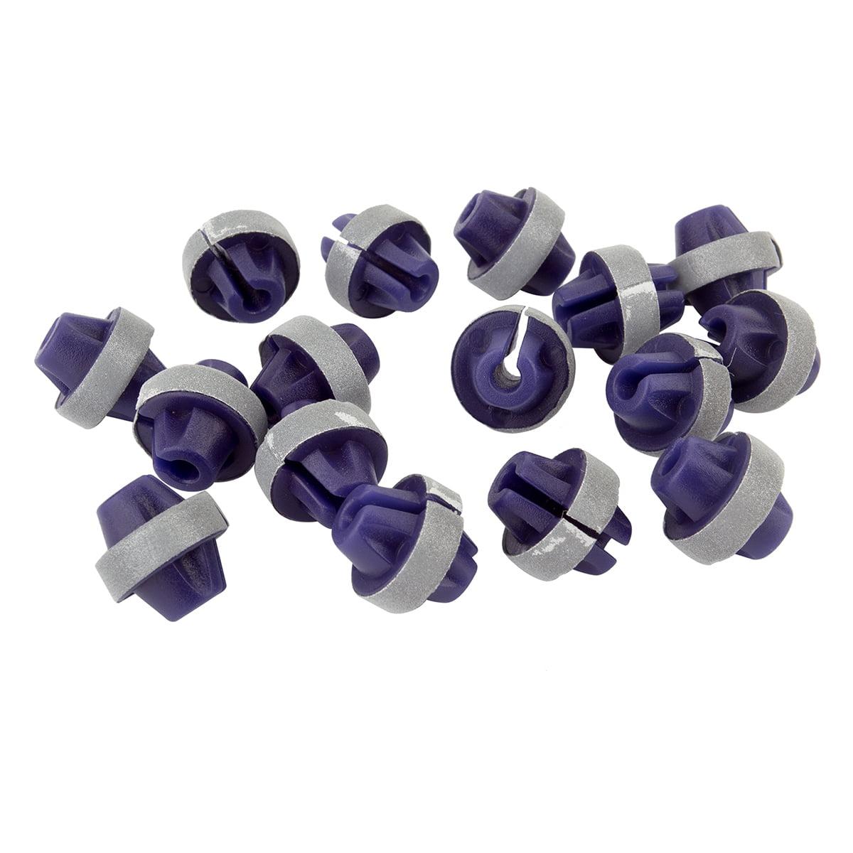Sunlite Spoke Beads Reflective Purple