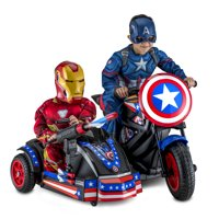 Marvel's Captain America Motorcycle with Sidecar Ride-On Toy by Kid Trax