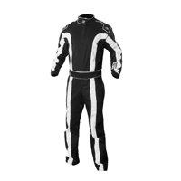 K1 RACEGEAR 20-TR2-NW-2XL Suit Triumph 2 Black XX-Large SFI 3.2A/1