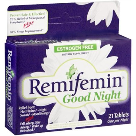 Remifemin Good Night Tablets 21 Tablets  Pack Of 2