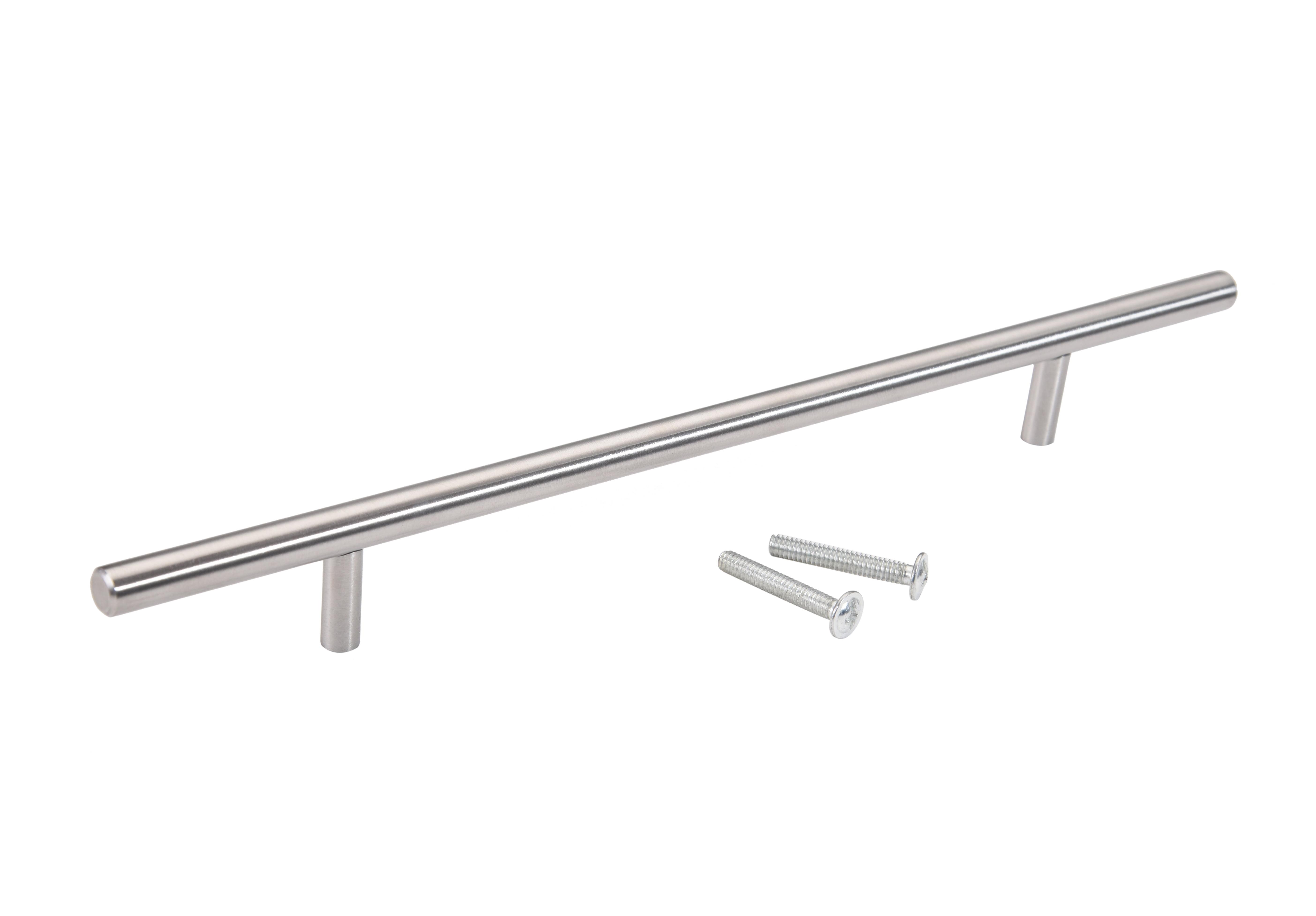 Stainless Steel T Bar Kitchen Cabinet Door Hardware Pulls Handles Knobs 2 24 Walmart Com Walmart Com