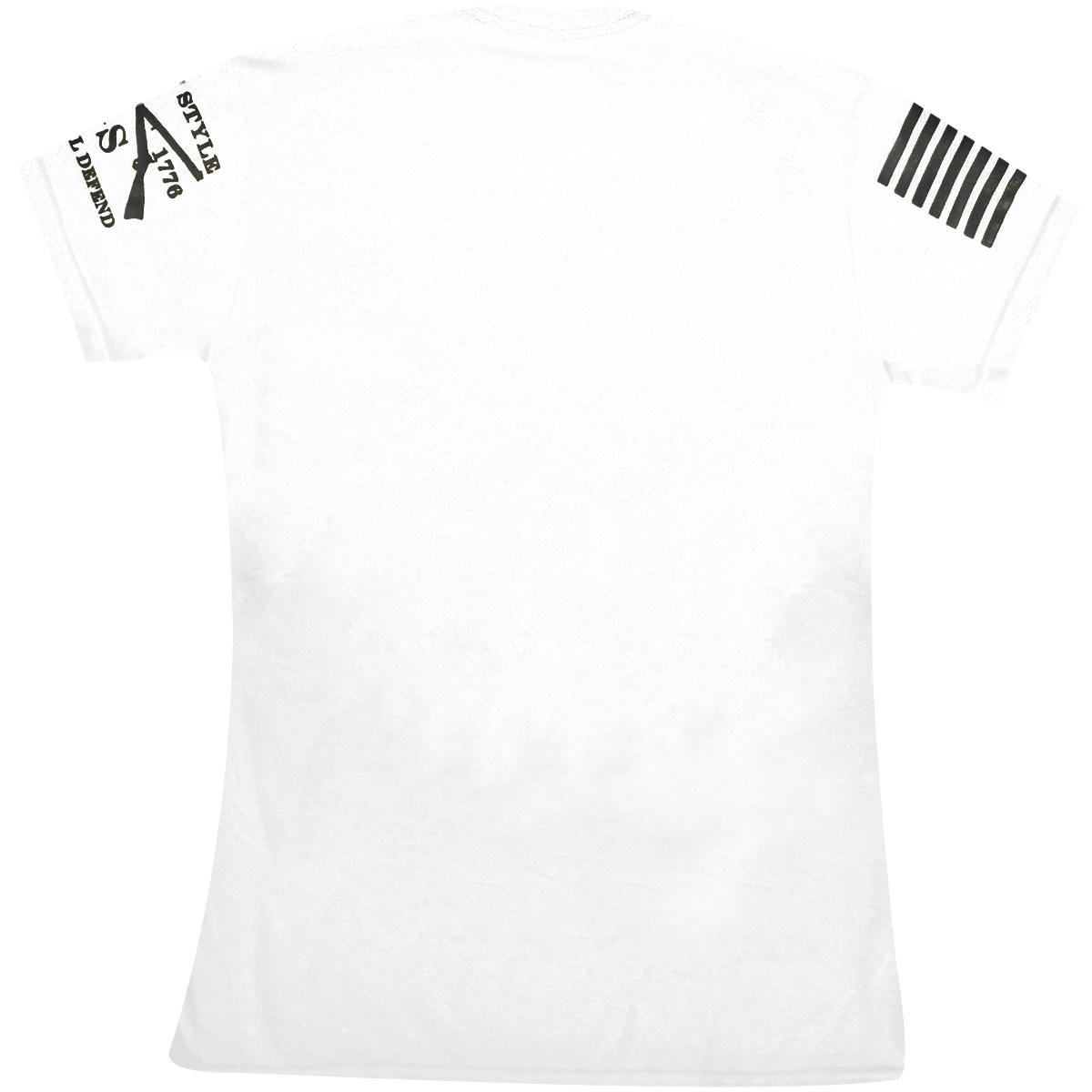 2fcd27300 Grunt Style Ammo Flag Crewneck T-Shirt - White - Walmart.com