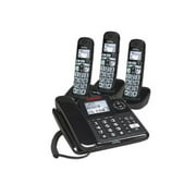 clarity 53727.000 e814cc moderate hearing loss corded and cordless phone combos (e814cc with 2 e814hs)