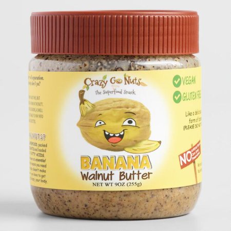Crazy Go Nuts Banana Walnut Butter (Pack of 2)
