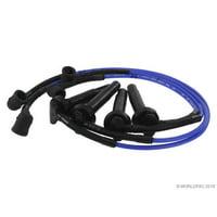 NGK W0133-1848677 Spark Plug Wire Set for Saab / Subaru