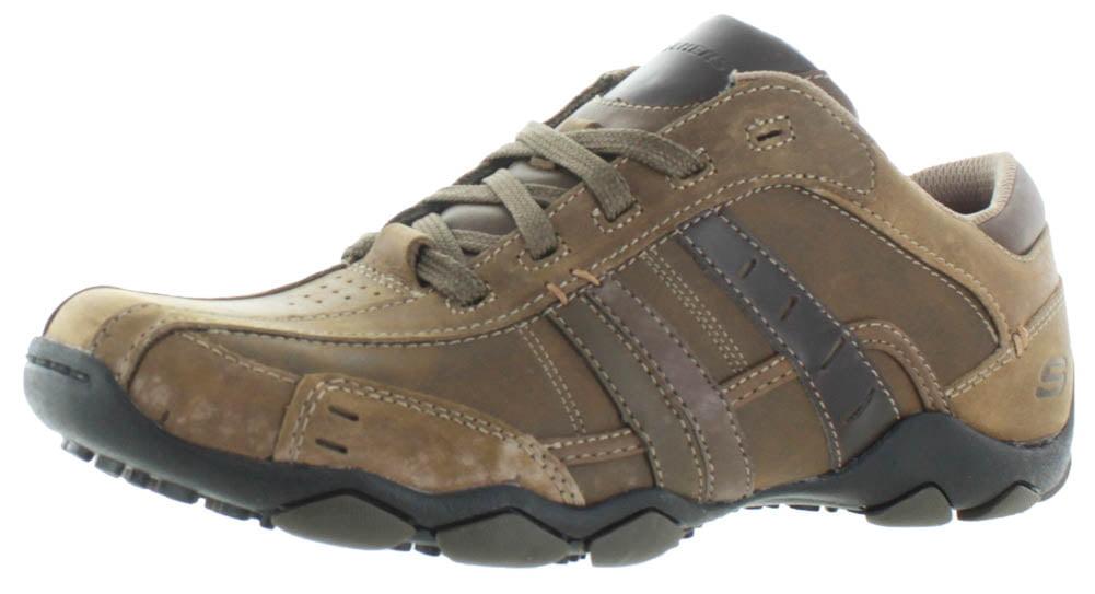 dcfcb369dbf6 SKECHERS - Skechers Diameter Vassell Men s Leather Oxford Shoes -  Walmart.com