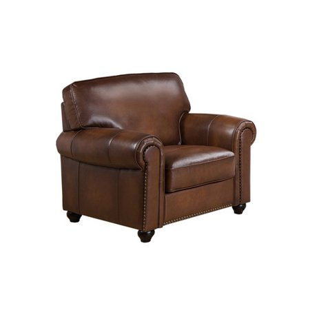 Image of Amax Aspen Leather Club Chair