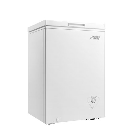 Arctic King Chest Freezer, 3.5 cu ft - Freestanding Top Freezer Freezer