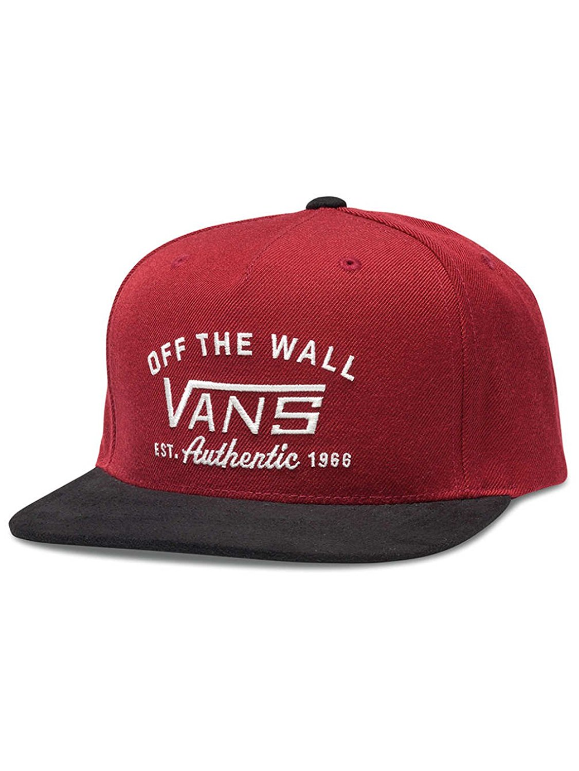 Authentic Start Red Dahlia-Red-UNICA Adjustable Baseball Golf Skateboard Cap By Vans by