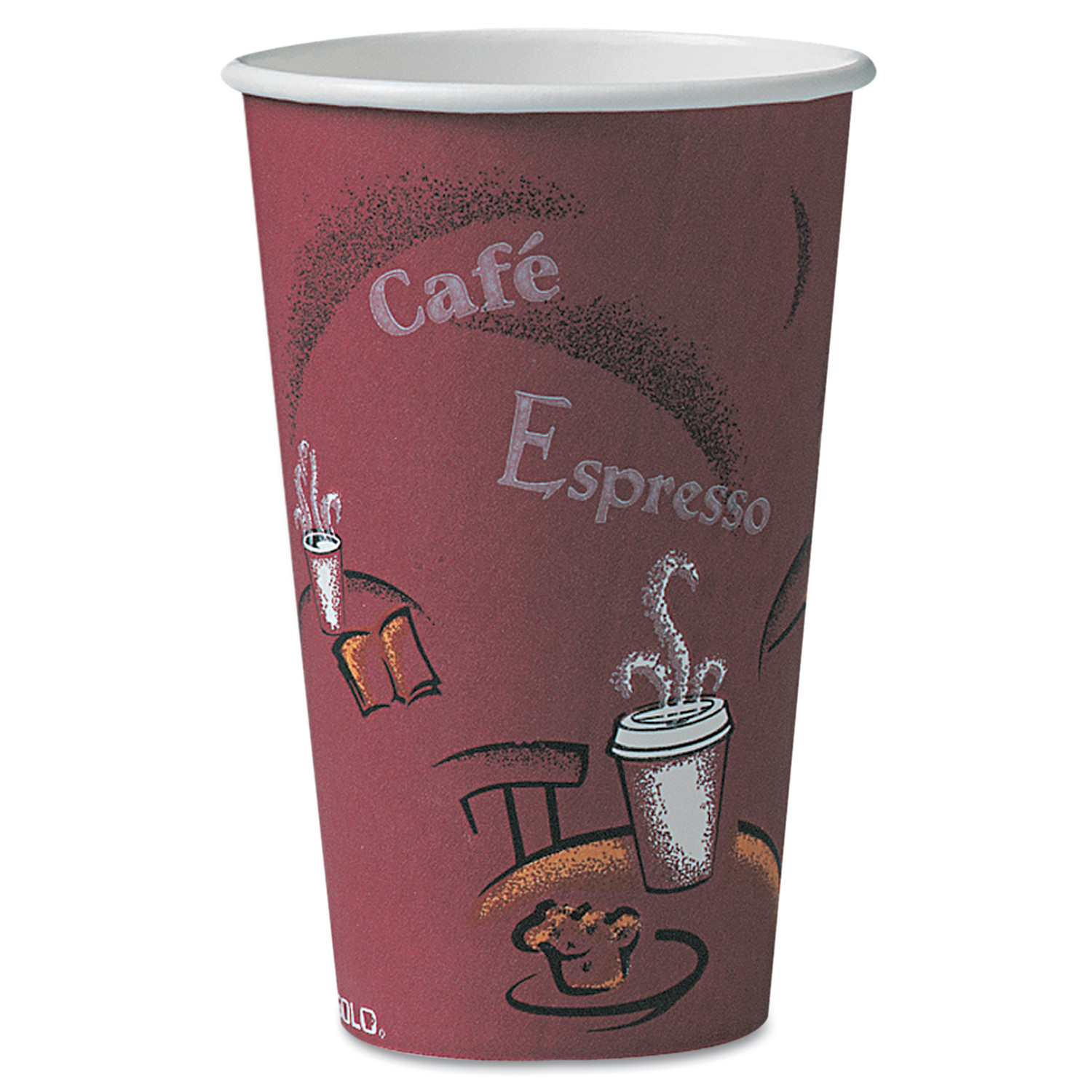 Solo Hot Paper Cups, 16 oz, 300 count