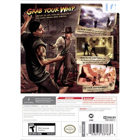 Indiana Jones & the Staff of Kings for Nintendo Wii