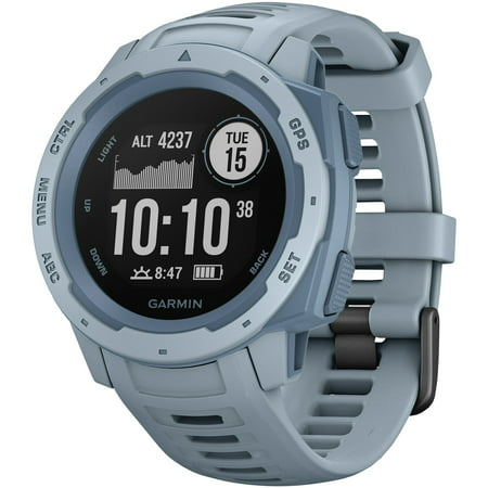 Garmin Instinct™ - Rugged GPS Watch, Sea Foam