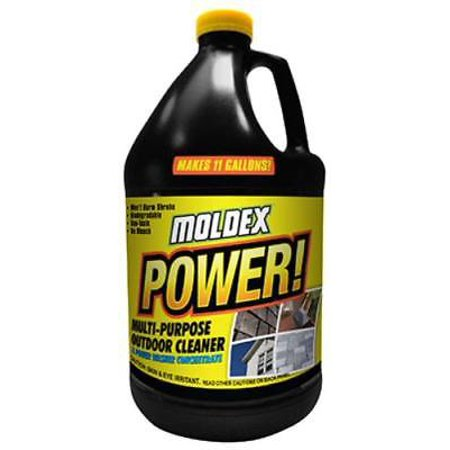 Moldex Gallon Multi-Surface Outdoor Cleaner Removes Dirt Grime Mold Only (Best Way To Remove Moles At Home)