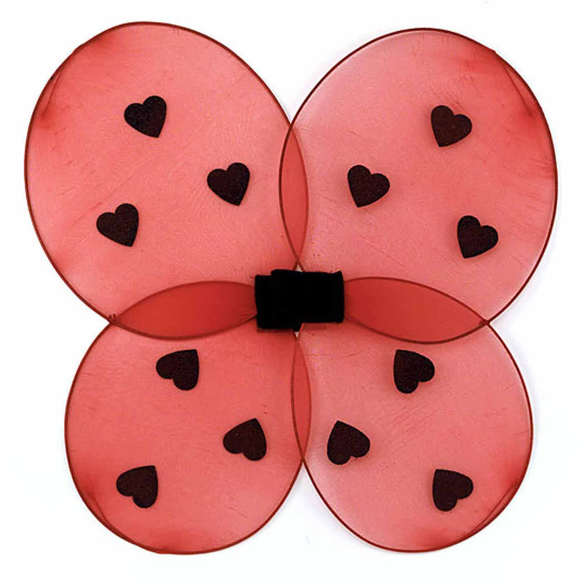 Ladybug Child Wings Halloween Costume Accessory