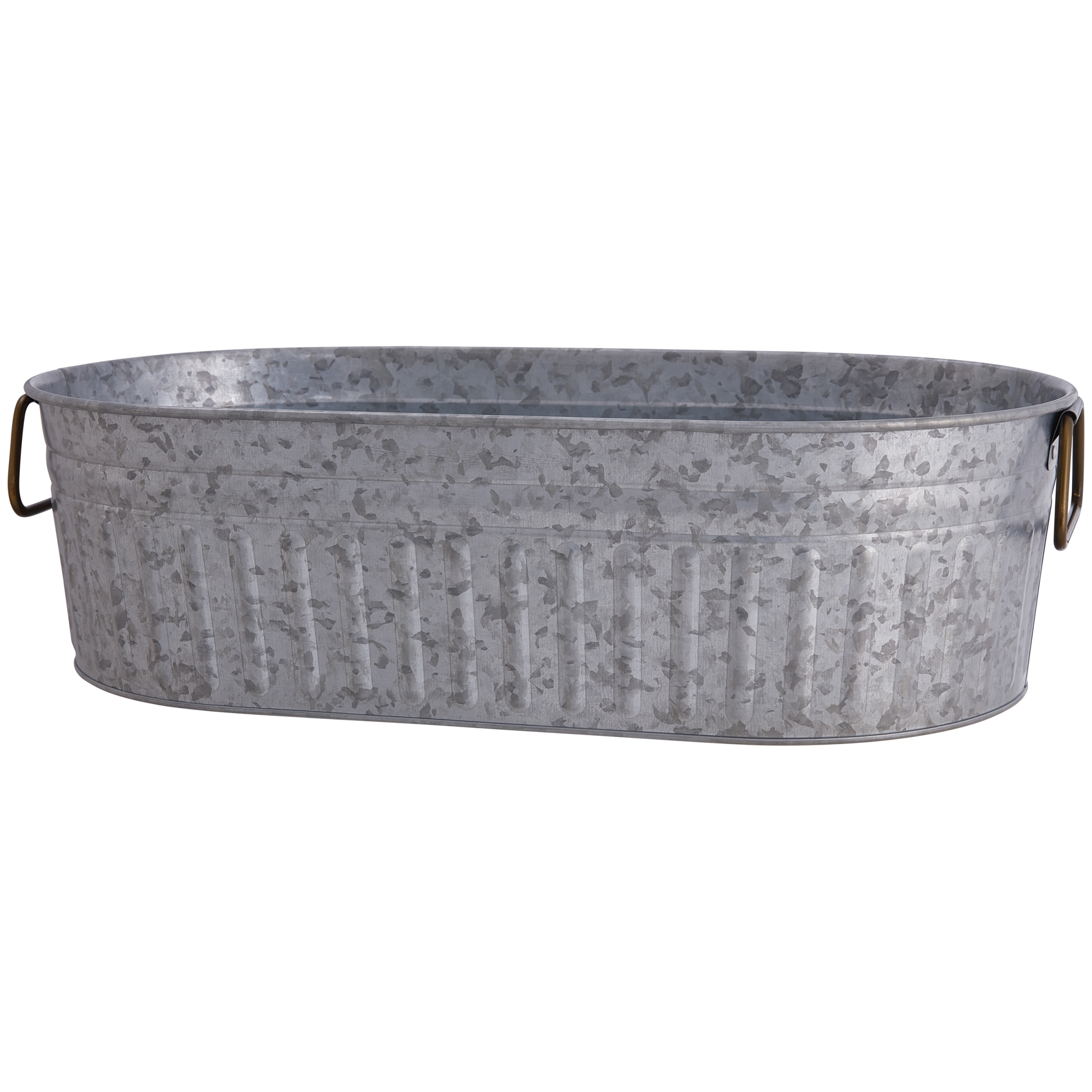 Better Homes And Gardens Galvanized Steel Oval Tub