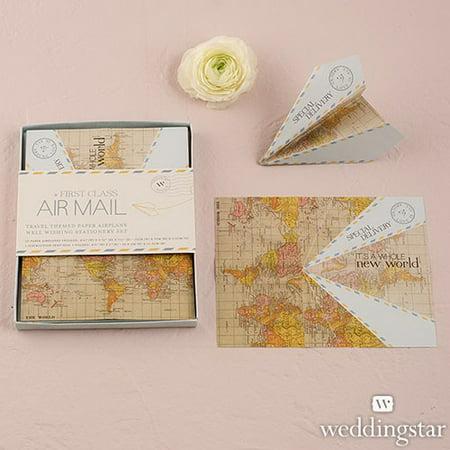 Wishing Well For Wedding (Weddingstar 9382 Paper Airplane Wishing Well Stationery)