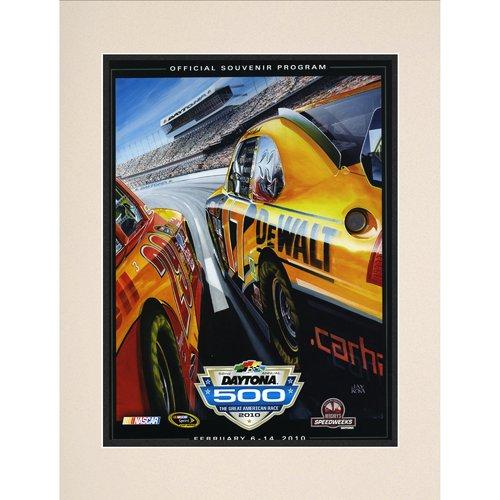Mounted Memories NASCAR Daytona 500 Program Vintage Advertisement