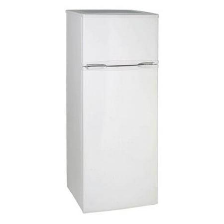 Avanti 7.4 Cu. Ft. Top Freezer Apartment Refrigerator in White