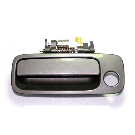 4AMCA Front Left Driver Side Exterior Outside Door Handle For 97-01 Toyota Camry 4N7 Sable Pearl Beige 1997 1998 1999 2000 2001