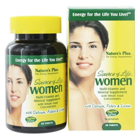 Nature's Plus - Source de multivitamines de la vie des femmes - 60 comprimés