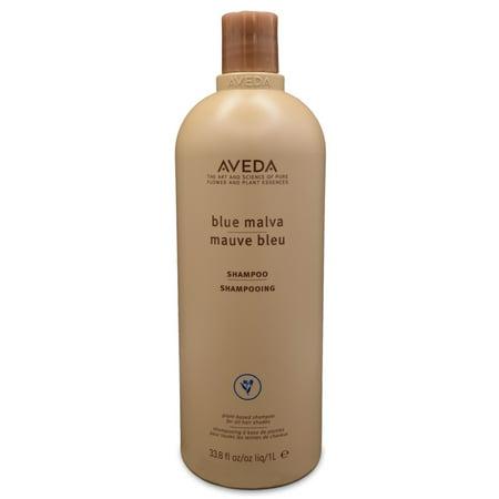 Blue Malva Shampoo, By Aveda - 33.8 Oz Shampoo (Aveda Shampure Body Wash)