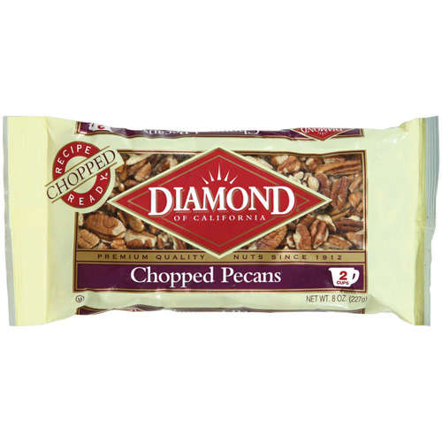 Diamond Of California Chopped Pecans, 8 oz